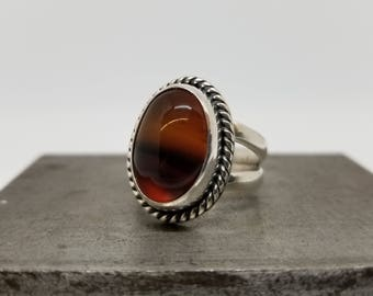 Agate in Sterling Silver