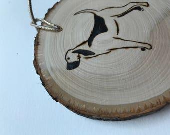 Dog ornament Blood Hound