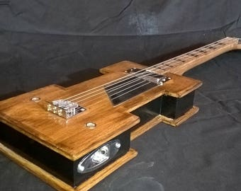 cigar box guitar 3 strings