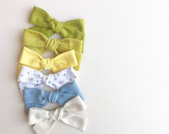 perfect school girl tied bow// summer release
