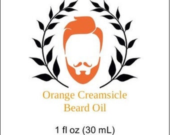 Orange Creamsicle Beard Oil