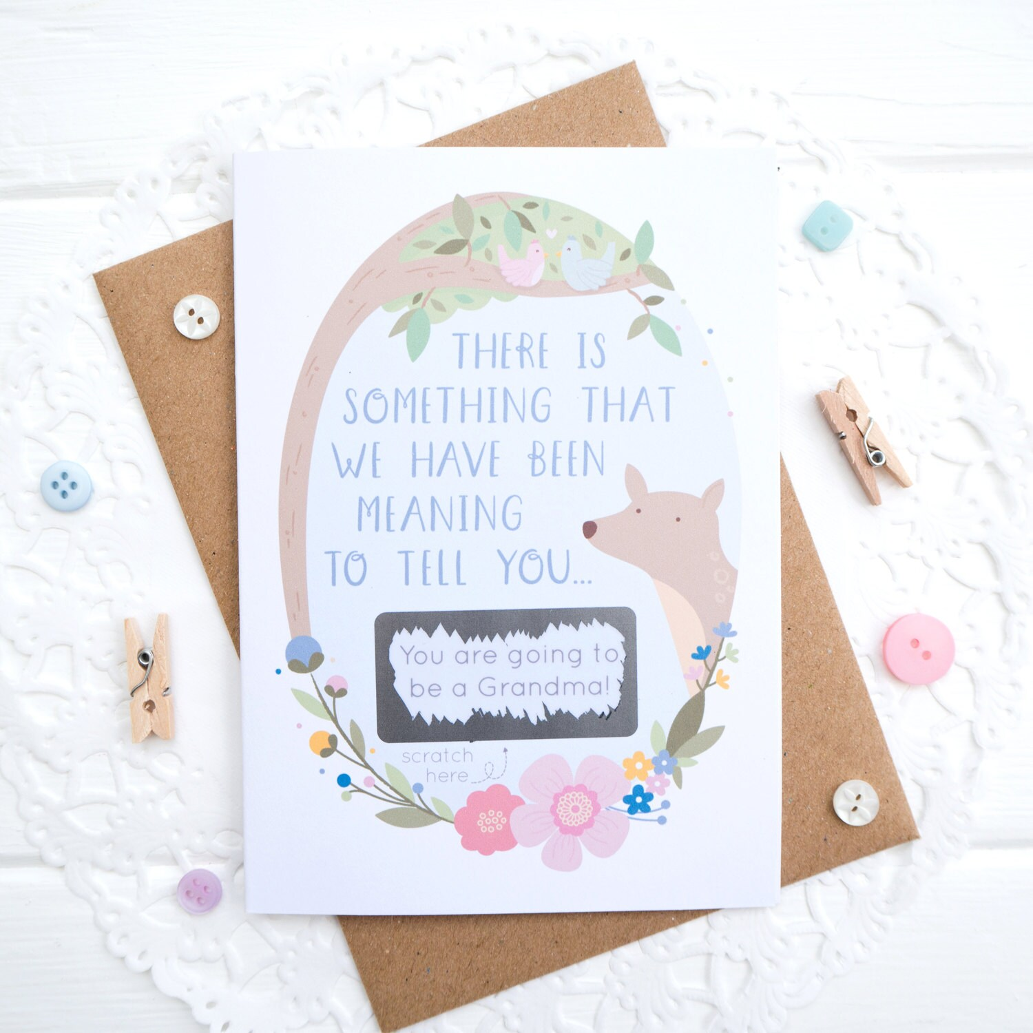 baby announcment cards