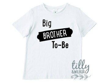 Big Brother To-Be Boys T-Shirt