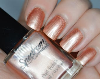 SUPERSTITION  Copper Pearl Nail Polish