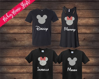 ON SALE | Disney Family Shirts | Matching Family Shirts | Disney Shirts | Custom Disney Shirts | Mickey Minnie Shirts | Disney Vacation