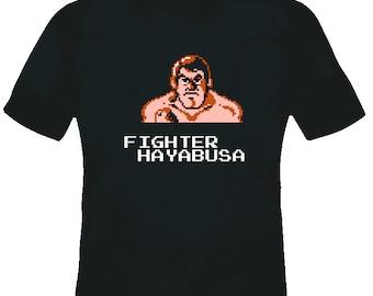 Pro Wrestling Nes Fighter Hyabusa T Shirt