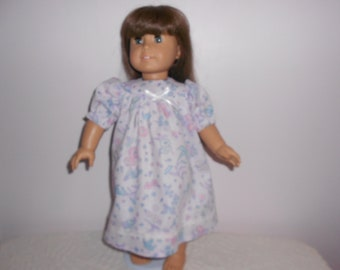 Nightgown for American Girl doll