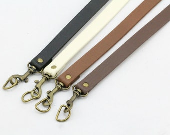 1 PCS 25.2 inch PU Leather / Faux Leather/ Pleather Handle Strap with D Ring Lobster Clasp