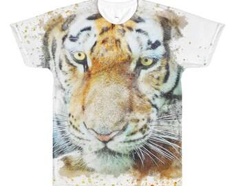 Fierce Tiger Cat || Men's Tee || Fierce Tiger Cat Tee