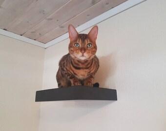 3 Cat shelves, 3 cat steps, cat furniture , cat perch , cat tower
