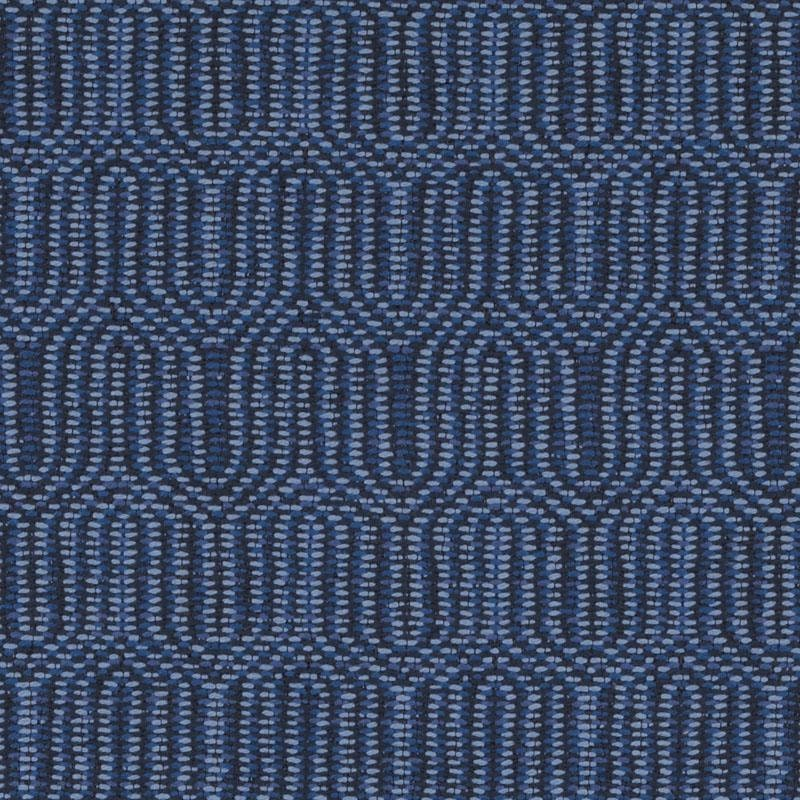 Peacock Blue Woven Upholstery Fabric For Furniture Denim