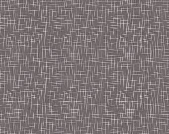 Hashtag Large White on Charcoal - Riley Blake Designs - Dark Gray Grey - Quilting Cotton Fabric - choose your cut