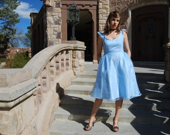 Cinderella inspired Disneybound 1950s style outfit! With pockets!