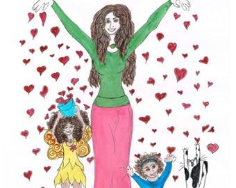 Yoga Mom  children's picture book