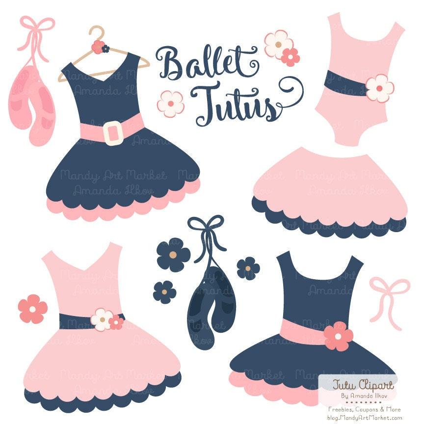 Premium Navy and Pink Tutu Clip Art Pink Dress Clip Art forPink Tutu Baby Clipart