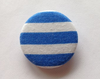 Blue sailor pin badge