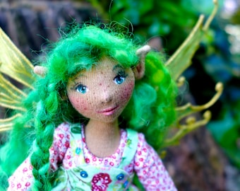 Sylvinia - An OOAK Spring Fairy Art Doll