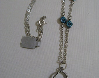 Basket Necklace For Mothers, Flower Girls or Sweethearts