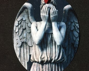 Weeping Angel Christmas Ornament