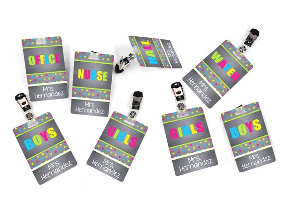 Personalized Hall Passes
