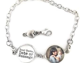Personalized Gift Custom Charm Bracelet Personalized Bracelet For Her Personalized Jewelry Custom Bracelet Personalized Bracelet Jewelry