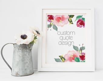 Custom Wedding Vow Sign - Wedding Song Lyric Art - Wedding Vow Print - Wedding Song Print - Custom Quote Printable - Anniversary Gift Ideas