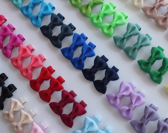 Cute! Baby hair clips Hair bows 10-40 pcs Boutique Bows Mini Bows Infant Baby Toddler Girl Hair bow Barrettes Hairpins Hair accessories