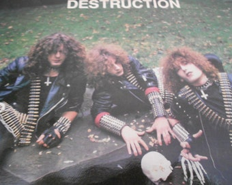 Destruction - Sentence Of Death - vinyl record