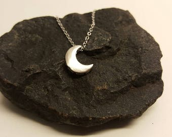 Half moon, Moon phases necklace, moon phase jewelry, phases of the moon, moon phases necklace, moon cycle necklace-lunar necklace-moon charm