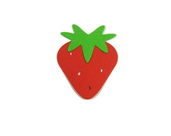 Strawberry Die Cut Set of 30