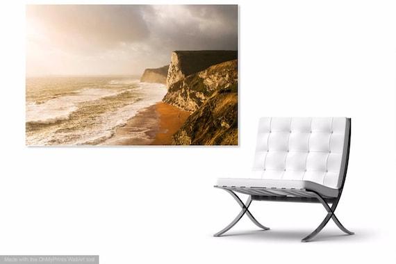 DURDLE DOOR BEACH. Landscape Photography, Dorset Beach, Large Print, Limited Edition, Coastal Art, Seascape.