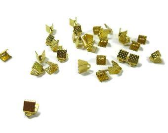 Ruban de fer tonique or 6 mm perles à écraser