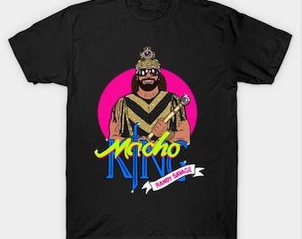 Macho King Randy Savage Men's/Women's/Youth Sizes:XS-2XL