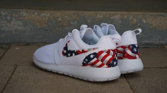 nike roshe run mens american flag