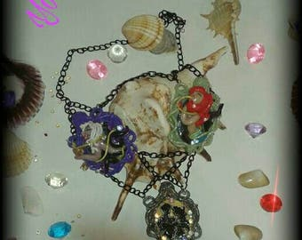 Cameo necklace Little Mermaid