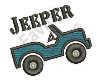 Jeep blueprint etsy jeeper machine embroidery design malvernweather Image collections
