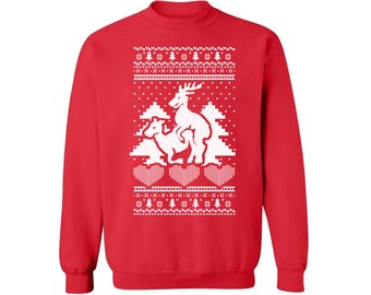 Triage de Rennes Sweatshirt laid Noël pull drôle Noël de fête pull Sweat shirt drôle fête de pull de Noël