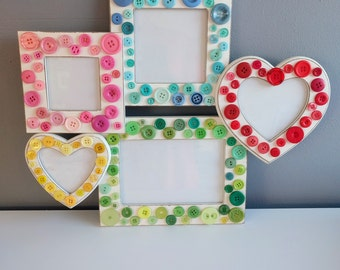 Multi-Picture Frame with Buttons