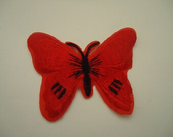 patch Thermo - application - Butterfly - Red