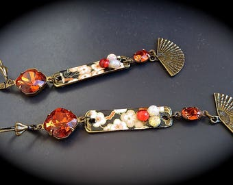 """""""Earrings"""" Retro Asian: In the mood for Love... """""""