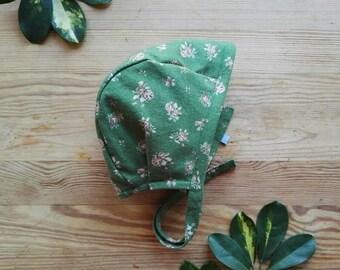 bonnet 'floral green'