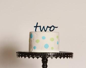 Football birthday cake topper Football Name Birthday Cake