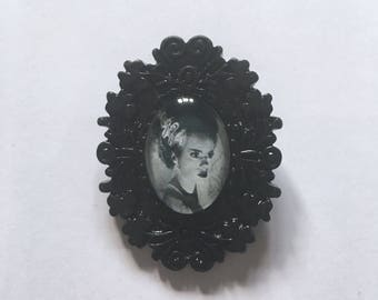 Bride of Frankenstein Cameo Brooch