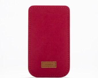 iPhone 6+ Sleeve - iPhone 6+ Case - Felt Cover iPhone 7 - iPhone Case 7 plus