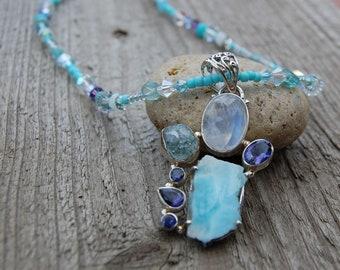 Opulent Sea Necklace