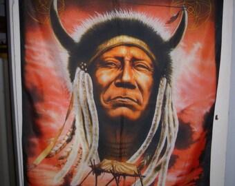 Navajo Native American Flag Wall Hanging