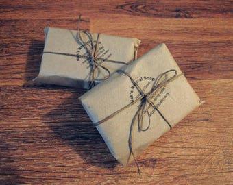 Nick's Natural Soap, fragrance free 2 bars