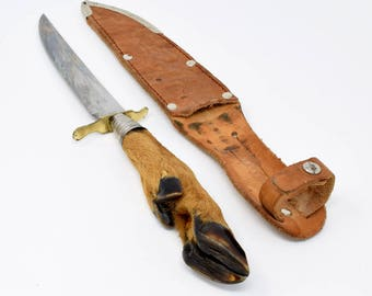 German Hunting Knife Edge Brand Solingen Germany 465