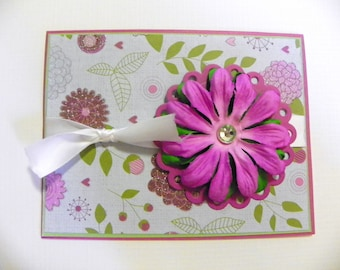 Flowers and Jewels All Occasion Card