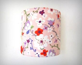 Applique murale japonisante fleurs de cerisier 25cm